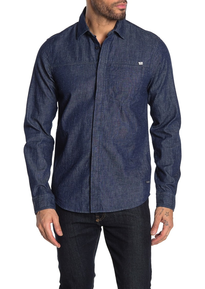Scotch & Soda Nepped Denim Shirt