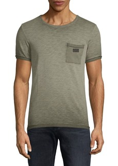 Scotch & Soda Oil-Washed Cotton Tee