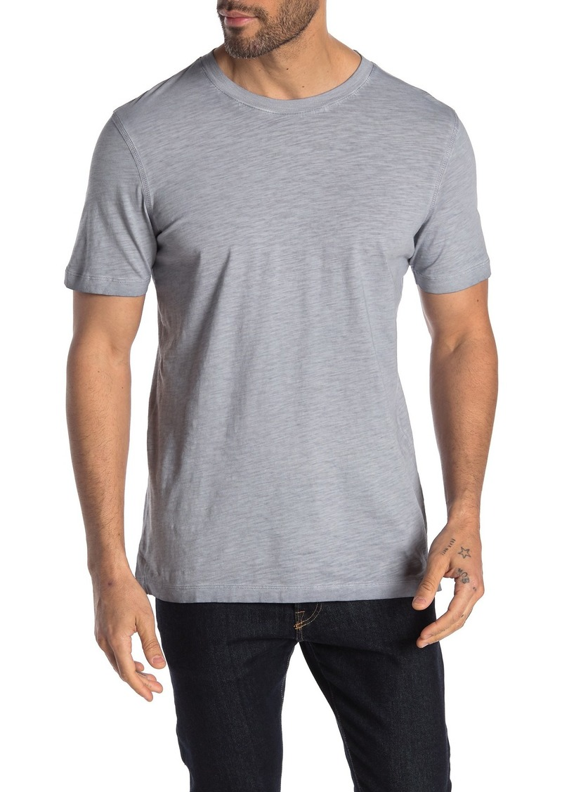 Scotch & Soda Oil-Washed Crew Neck Slub T-Shirt