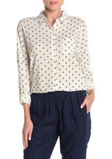 Scotch & Soda Oversized Patterned Button Down Shirt