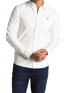 Scotch & Soda Oxford Long Sleeve Trim Fit Shirt
