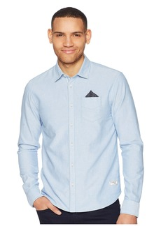 Scotch & Soda Oxford Shirt with Chest Pocket and Detachable Pocket Square