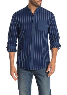 Scotch & Soda Paradise Mandarin Collar Regular Fit Shirt