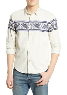Scotch & Soda Print Corduroy Shirt