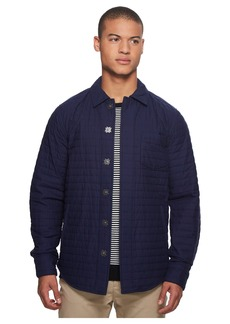 Scotch & Soda Quilted Cotton Shirt Jacket