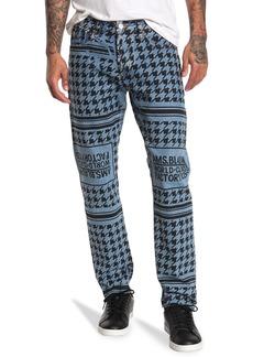 Scotch & Soda Ralston Cropped Graphic Print Jeans