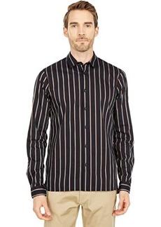 Scotch & Soda Regular Fit - Satin Striped Shirt