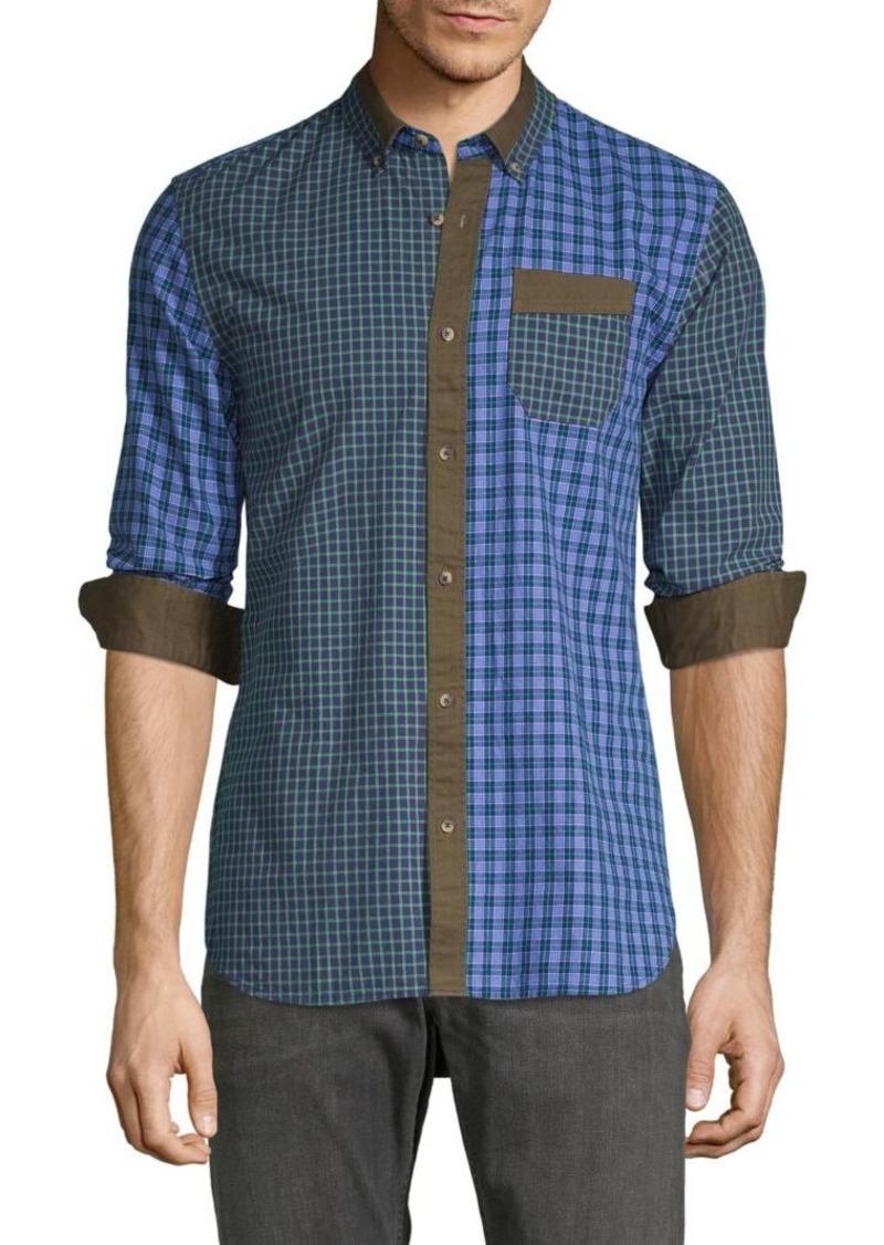 Scotch & Soda Regular-Fit Checkered Shirt