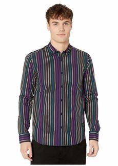 Scotch & Soda Regular Fit Chic Yarn-Dyed Stripe Shirt