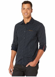 Scotch & Soda Regular Fit Classic All Over Printed Pocket Shirt
