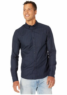 Scotch & Soda Regular Fit Classic Oxford Shirt w/ All Over Print