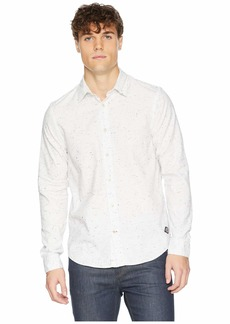Scotch & Soda Regular Fit Classic Shirt in Neppy Quality