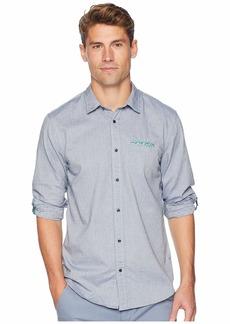 Scotch & Soda Regular Fit Classic Shirt w/ Chest Pocket, Fixed Pocket Square