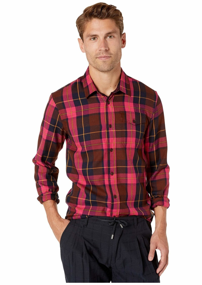 Scotch & Soda Regular Fit Multicolored Checked Shirt