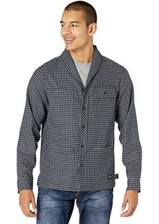 Scotch & Soda Relaxed Fit - Shawl Collar Check Overshirt