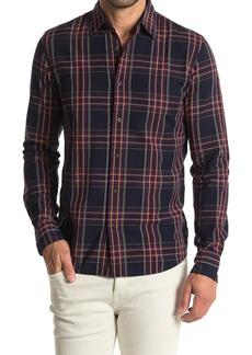 Scotch & Soda Rocker Check Long Sleeve Regular Fit Shirt