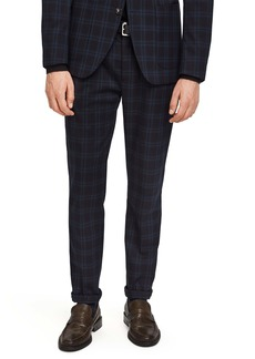 Scotch & Soda Blake Slim Fit Check Trousers