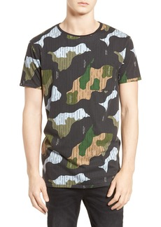 Scotch & Soda Camo Print T-Shirt