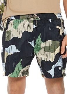 Scotch & Soda Camouflage-Print Swim Trunks