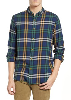 Scotch & Soda Check Flannel Shirt