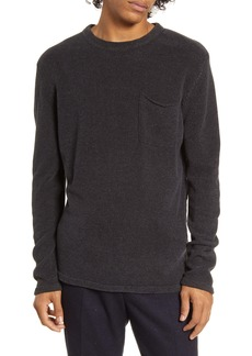 Scotch & Soda Chenille Pocket Crewneck Sweater
