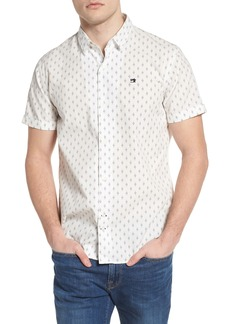 Scotch & Soda Classic Fit Print Woven Shirt