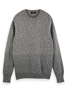 Scotch & Soda Cotton Blend Crewneck Sweater