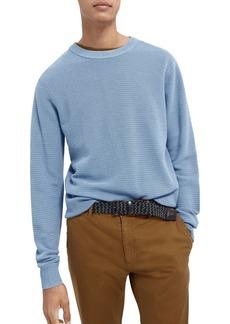 Scotch & Soda Cotton Slim Fit Crewneck Sweater