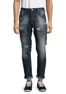 Scotch & Soda Dean Distressed Cotton Jeans