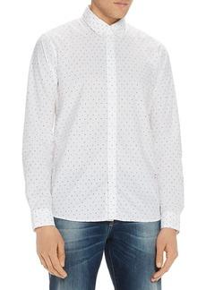 Scotch & Soda Eclipse-Print Regular Fit Button-Down Shirt