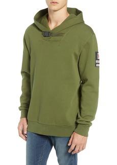 Scotch & Soda Explorer Clip Buckle Hooded Pullover