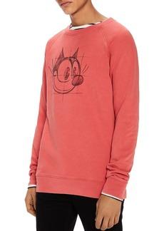 Scotch & Soda Felix The Cat Graphic Sweatshirt
