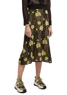 Scotch & Soda Floral Knit Skirt
