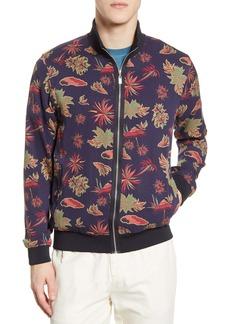 Scotch & Soda Floral Print Bomber Jacket