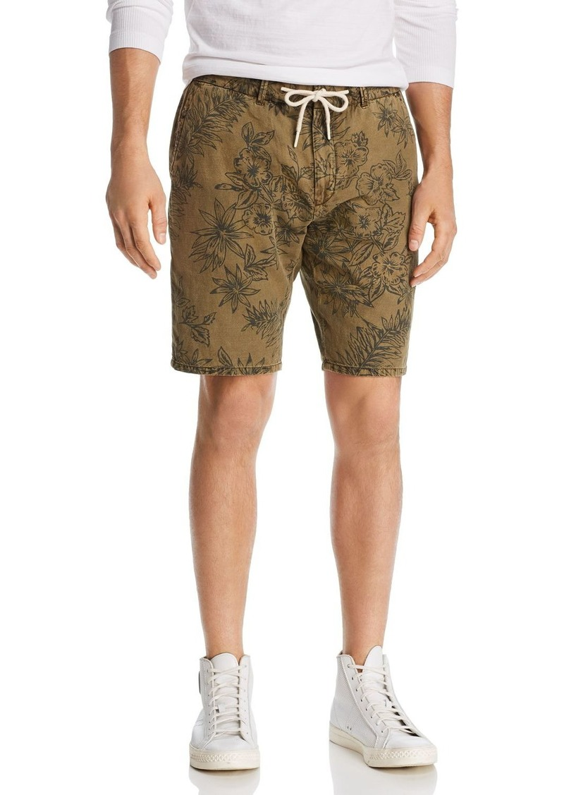Scotch & Soda Floral-Print Relaxed Fit Drawstring Shorts