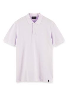 Scotch & Soda Garment Dye Organic Cotton Polo
