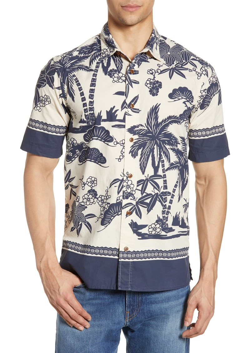 Scotch & Soda Hawaiian Print Woven Shirt