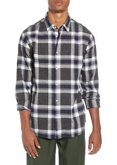 Scotch & Soda Herringbone Plaid Shirt