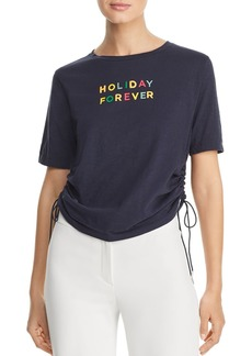 Scotch & Soda Holiday Forever Side-Drawstring Tee