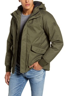 Scotch & Soda Hooded Jacket with Interior Quilting
