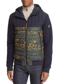 Scotch & Soda Hooded Mixed-Media Jacket