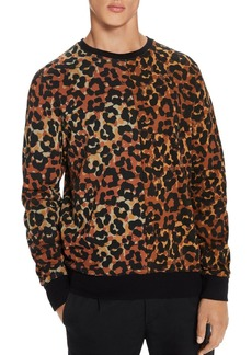 Scotch & Soda Leopard-Print Sweatshirt