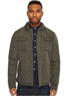 Scotch & Soda Lightweight Quilted Shirt Jacket in Nylon Quality