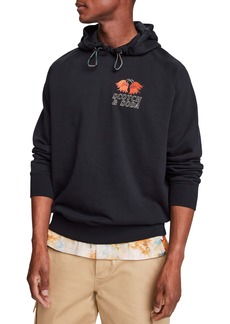 Scotch & Soda Logo Embroidered Hoodie