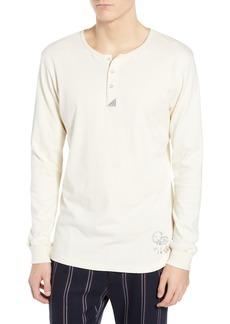 Scotch & Soda Long Sleeve Henley Shirt