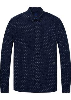 Scotch & Soda Men's AMS Blauw Slim fit Shirt  XL