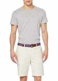 Scotch & Soda Men's Belted Chino Shorts raw Cotton
