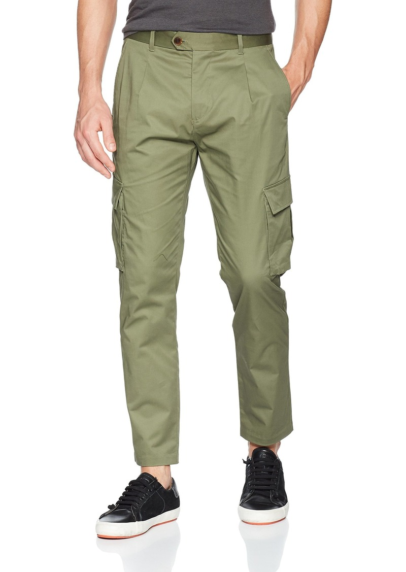 Scotch & Soda Men's Blake-Clean Cargo Pant sage