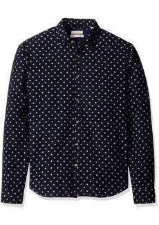 Scotch & Soda Men's Button Down Shirt in Mix and Match Structure Fabrics