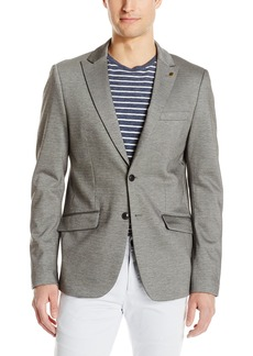 Scotch & Soda Men's Chic Jersey Blazer in Cotton/Elastane Quality
